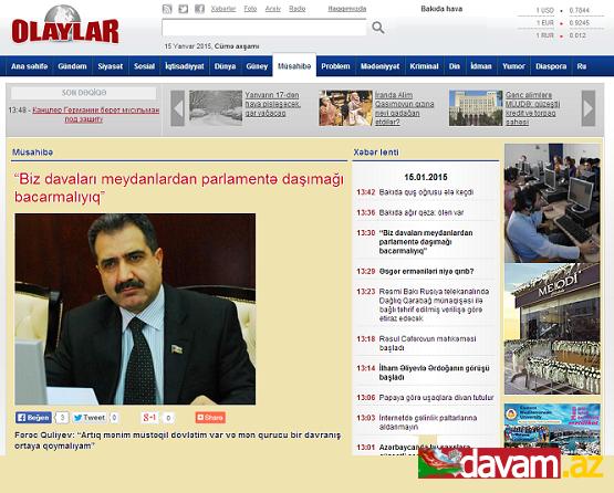 -Biz davaları meydanlardan parlamentə daşımağı bacarmalıyıq-
