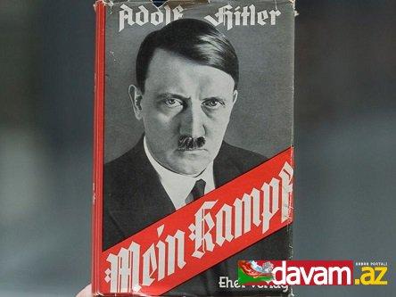 Almaniyada Hitlerin kitabı nəşr ediləcək