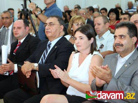 MDHP sədri, Millət Vəkili Fərəc Quliyev  Azərbaycan-İsrail Beynəlxalq Assosiasiyasının II Qurultayında iştirak edib