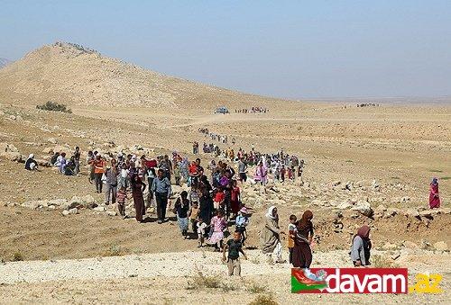 IŞİD saldırılarından kaçıp Türkiye'ye ulaşan Yezidiler.