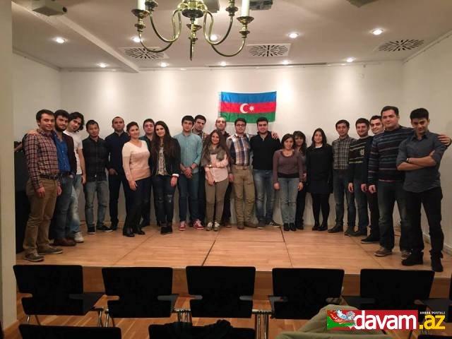 Almaniyada yeni azərbaycanlı gənclər təşkilatı yarandı