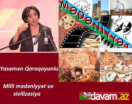 Milli mədəniyyət və sivilizasiya