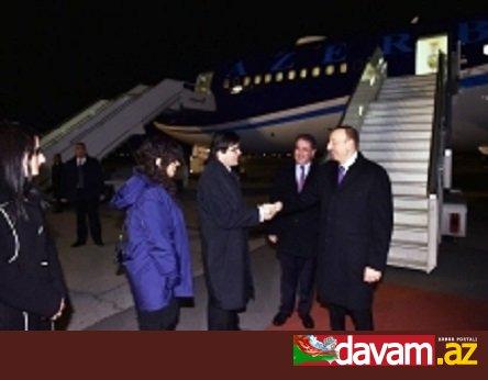 Azərbaycan Prezidenti İlham Əliyevin Sofiyada rəsmi qarşılanma mərasimi olub