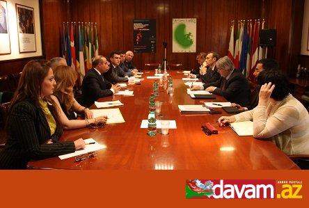 Azay Quliyev İtaliya senatının və hökumətinin üzvləri ilə görüşüb