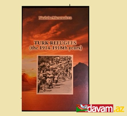 Türk qaçqınları -1914-1918-ci illər-- adlı kitabının təqdimatı oldu.