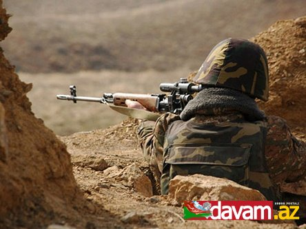 Azərbaycan Ordusu düşmən mövqelərinə 82 atəş zərbəsi endirib