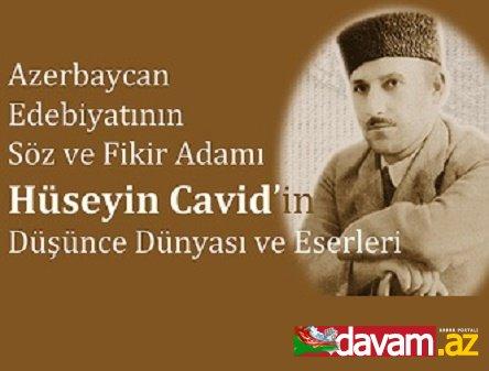 İnsan haraylı Hüseyn Cavid