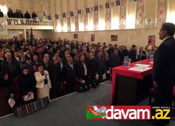 Fərəc Quliyevin seçicilərlə anşlaq görüşü (video, foto)
