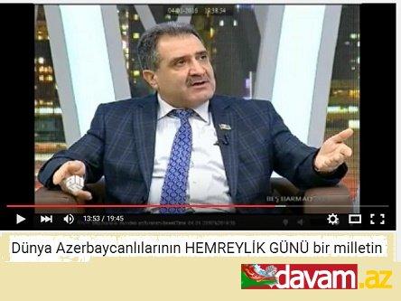 """Fərəc Quliyev: """"Əbülfəz Elçibəy əmr verdi və..."""" (video)"""