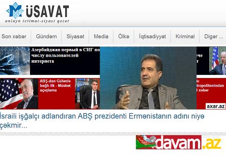 İsraili işğalçı adlandıran ABŞ prezidenti Ermənistanın adını niyə çəkmir..