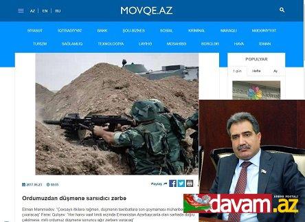 Ordumuzdan düşmənə sarsıdıcı zərbə