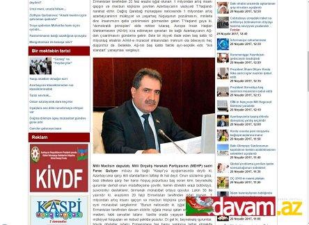 Azərbaycanla təzyiq dilində danışmaq yanlış seçimdir