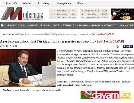 Azərbaycan müxalifəti Türkiyənin hansı partiyasını seçdi... - Sədrlərin CAVABI
