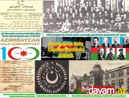 Azərbaycan Xalq Cümhuriyyətində təhsil