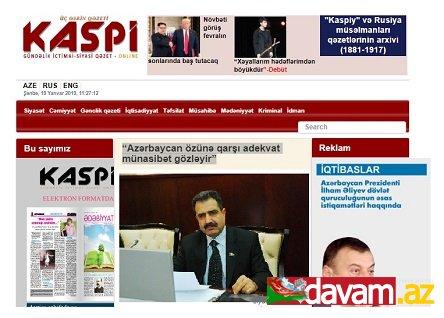 """""""Azərbaycan özünə qarşı adekvat münasibət gözləyir"""""""