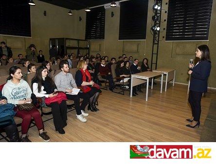 """Azərbaycan Dövlət Mədəniyyət və İncəsənət Universitetində  """"Boomerang"""" layihəsinin təqdimat mərasimi keçirilib"""
