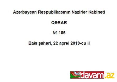 Azərbaycan Respublikasının Nazirlər Kabinetinin QƏRARI
