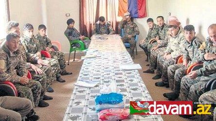 Terrorçu PKK ermənilərdən ibarət silahlı dəstə qurub