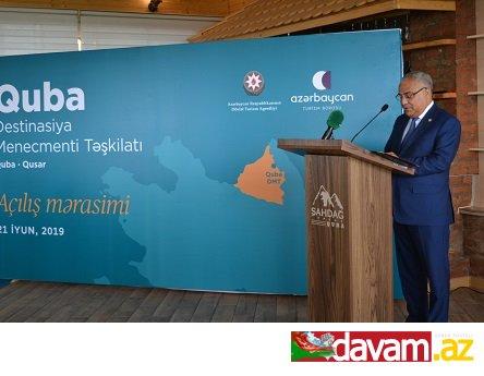 Quba Destinasiya Menecmenti Təşkilatı ictimaiyyətə təqdim edilib