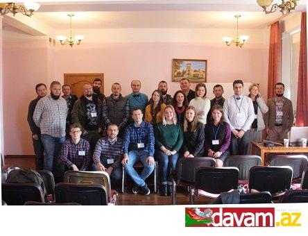 Azərbaycanlı  alim Kiyevdə keçirilən beynəlxalq elmi  konfransda iştirak edib