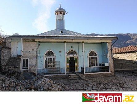 Lahıcdakı Bədöyün məscidində başlanmış arxeoloji tədqiqatlar davam edir