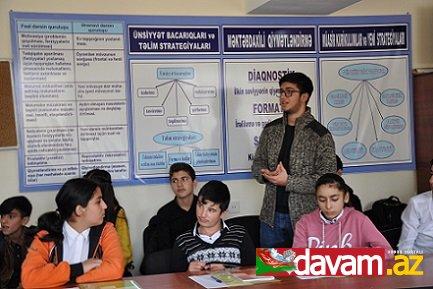 """Gənclər təşkilatının regionlarda """"Bullinq""""ə qarşı maarifləndirmə kampaniyası"""