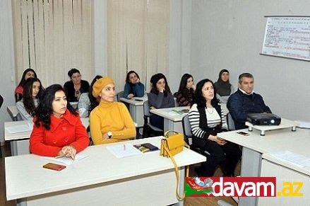 Dövlət Məşğulluq Xidməti 23 rayonda gənclər üçün təlimlər keçirib