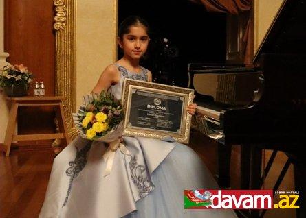 Sənət dünyasını fəth edən 10 yaşlı Ləman Seyidova