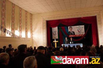 Fərəc Quliyevin seçicilərlə izdihamlı görüşü keçirildi (video, foto)