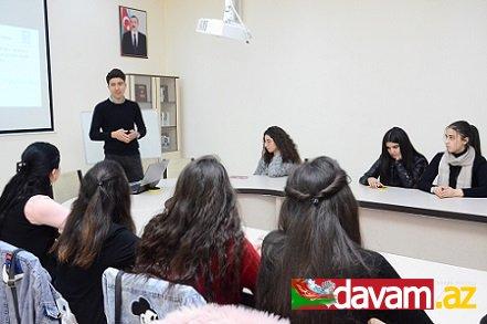 """""""Öz biznesinə başla və təkmilləşdir"""" proqramı çərçivəsində təlimlər keçirilib"""