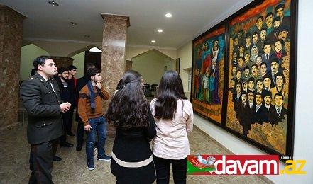 Aİİ-nin tələbələri Memorial Soyqırımı Muzeyini ziyarət edib