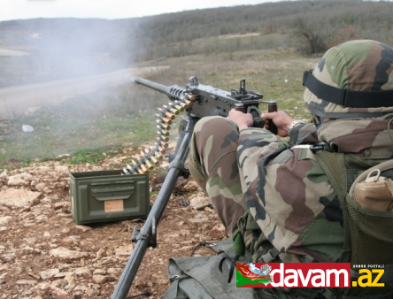 Ermənistan silahlı qüvvələrinin bölmələri atəşkəs rejimini 25 dəfə pozub