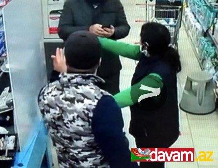 Markette koronavirüs kavgası: 'Maske tak' ikazına uymayıp saldırdı!