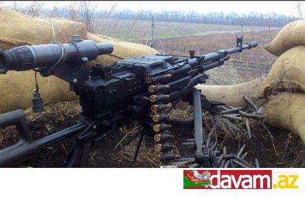 Ermənistan silahlı qüvvələrinin bölmələri atəşkəs rejimini 24 dəfə pozub