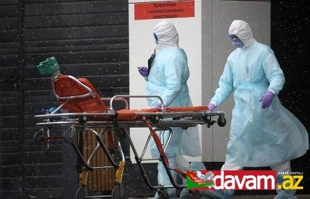Rusiyada koronavirus infeksiyasına yoluxanların sayı 6343 nəfərə çatıb