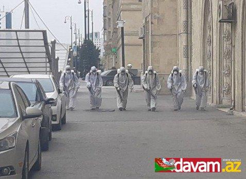 Nərimanov rayonunda koronovirusla mübarizə çərçivəsində tədbirlər davam etdirilir