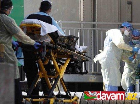 ABŞ-da sutka ərzində 1700 nəfər koronavirusdan ölüb