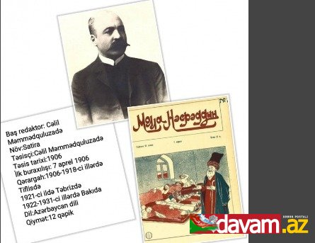 """Kitabxana """"Molla Nəsrəddin"""" jurnalının yaranma tarixi münasibətilə virtual sərgi hazırlayıb"""