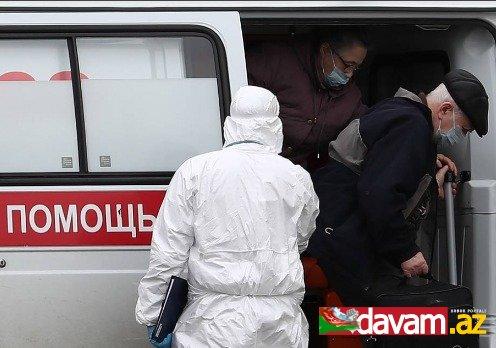 Rusiyada gün ərzində 1175 nəfərdə koronavirus aşkar edilib