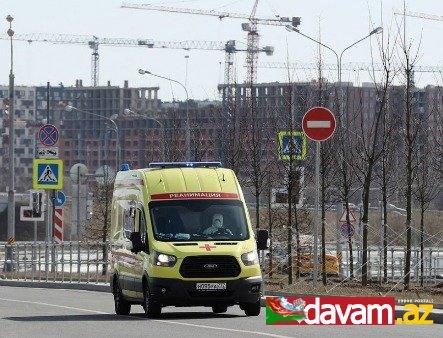 Rusiyada daha 1786 koronavirus xəstəsi qeydə alınıb