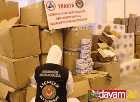 Türkiyədə qanunsuz yollarla tibbi ləvazimatların çıxarılmasının qarşısı alınıb