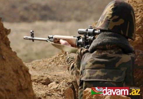 Ermənistan silahlı qüvvələri atəşkəsi pozmaqda davam edir
