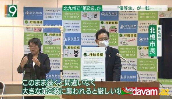 Yaponiyada koronavirus pandemiyasının ikinci dalğası başlaya bilər