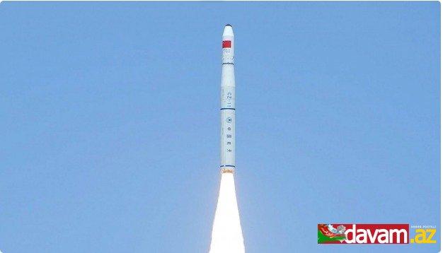 Çin orbitə iki texnologiya peyki çıxarıb
