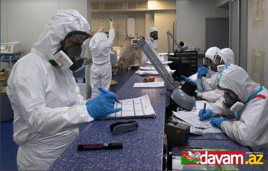 Rusiyada ötən gün 8726 nəfər koronavirusa yoluxub