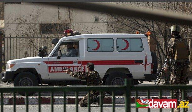 Əfqanıstanda partlayış nəticəsində azı 11 polis əməkdaşı həlak olub