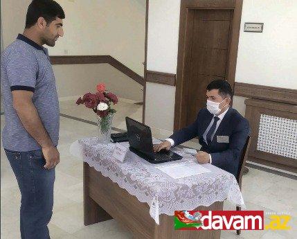 Sədərək rayonunda keçirilən əmək yarmarkasında 12 nəfərə işə göndəriş verilib