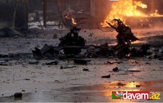 Suriyada bazarda terror aktı törədilib, 8 nəfər yaralanıb