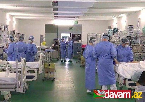 İsraildə COVID-19 infeksiyasına yoluxanların sayı 24 mini keçib