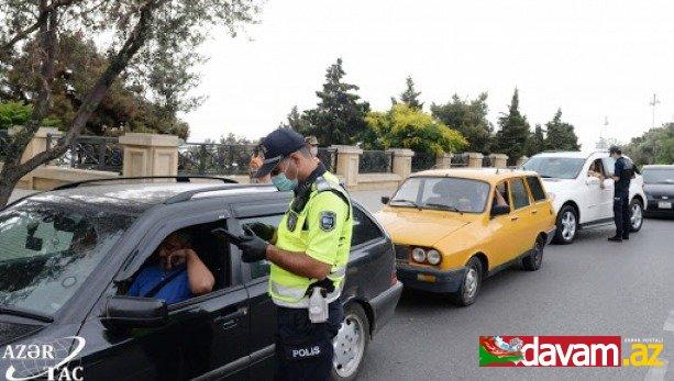 DYP: İcazəsi olmadan postlardan keçmək istəyən 3158 nəqliyyat vasitəsi geri qaytarılıb